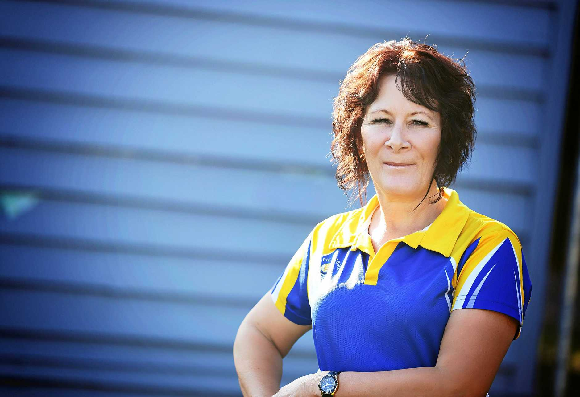 Gympie and Districts Netball president Colleen Miller.