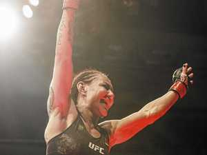 Gympie's Arlene celebrates record KO as Cyborg threat looms