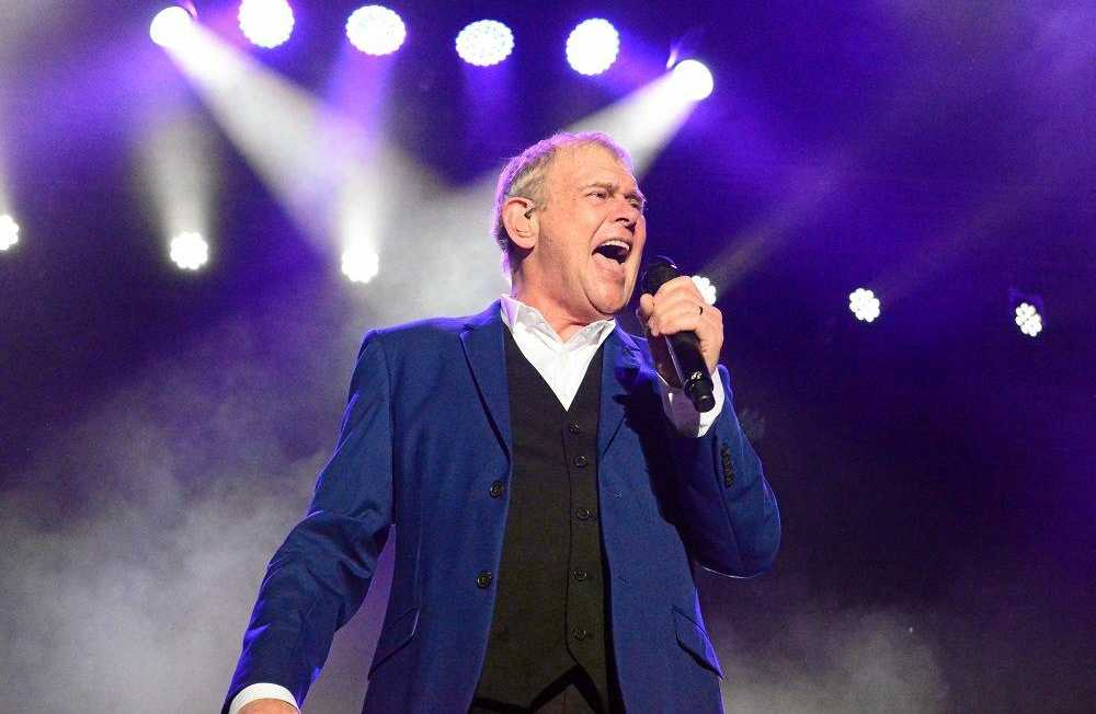 THE VOICE: John Farnham stole the show in Noosa for The Red Hot Summer Tour earlier this year.