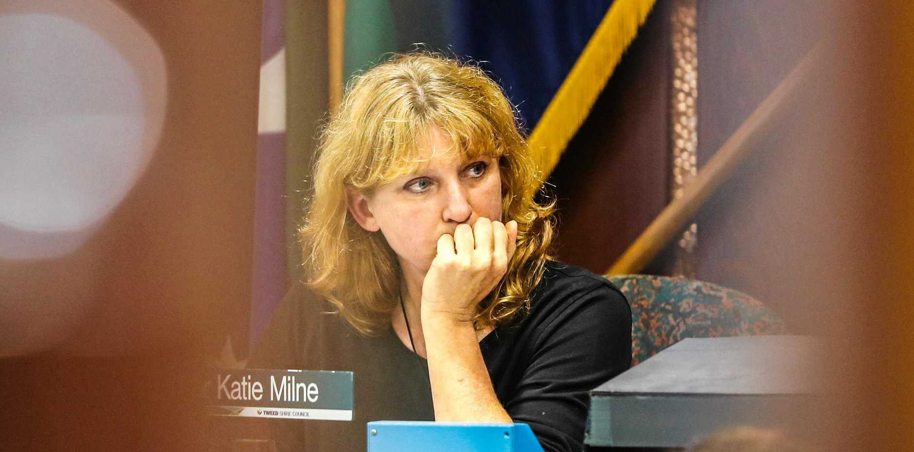 Tweed Mayor Katie Milne.