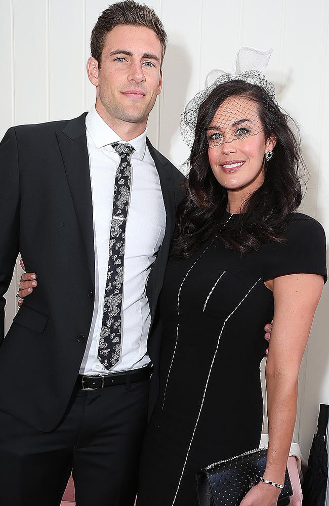 'There's just been so much on.' Shaun Hampson and Megan Gale are planning to tie the knot in 2020. Picture: Julie Kiriacoudis