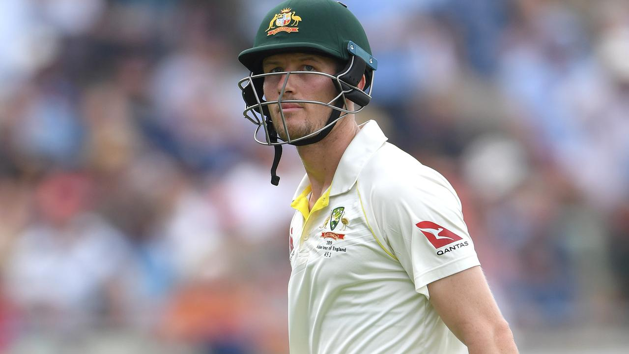 Cameron Bancroft will be looking over his shoulder after an indifferent game.