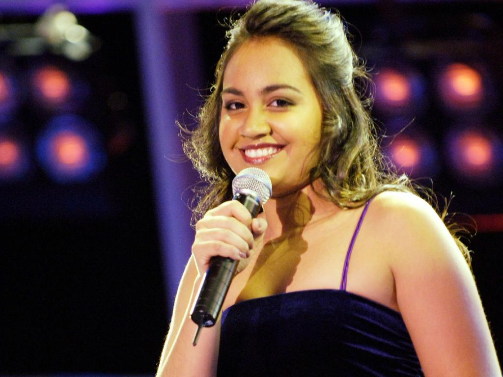 The singer was just a teenager when she appeared on Australian Idol in 2006.