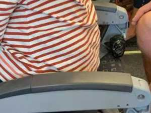 Budget airline blasted over 'backless' seat