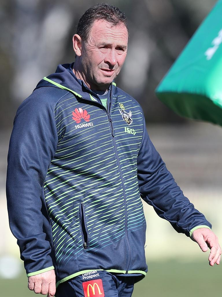 Ricky Stuart. Picture: Kym Smith