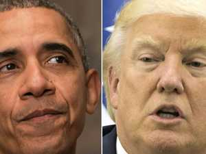 Trump slams Obama over shootings