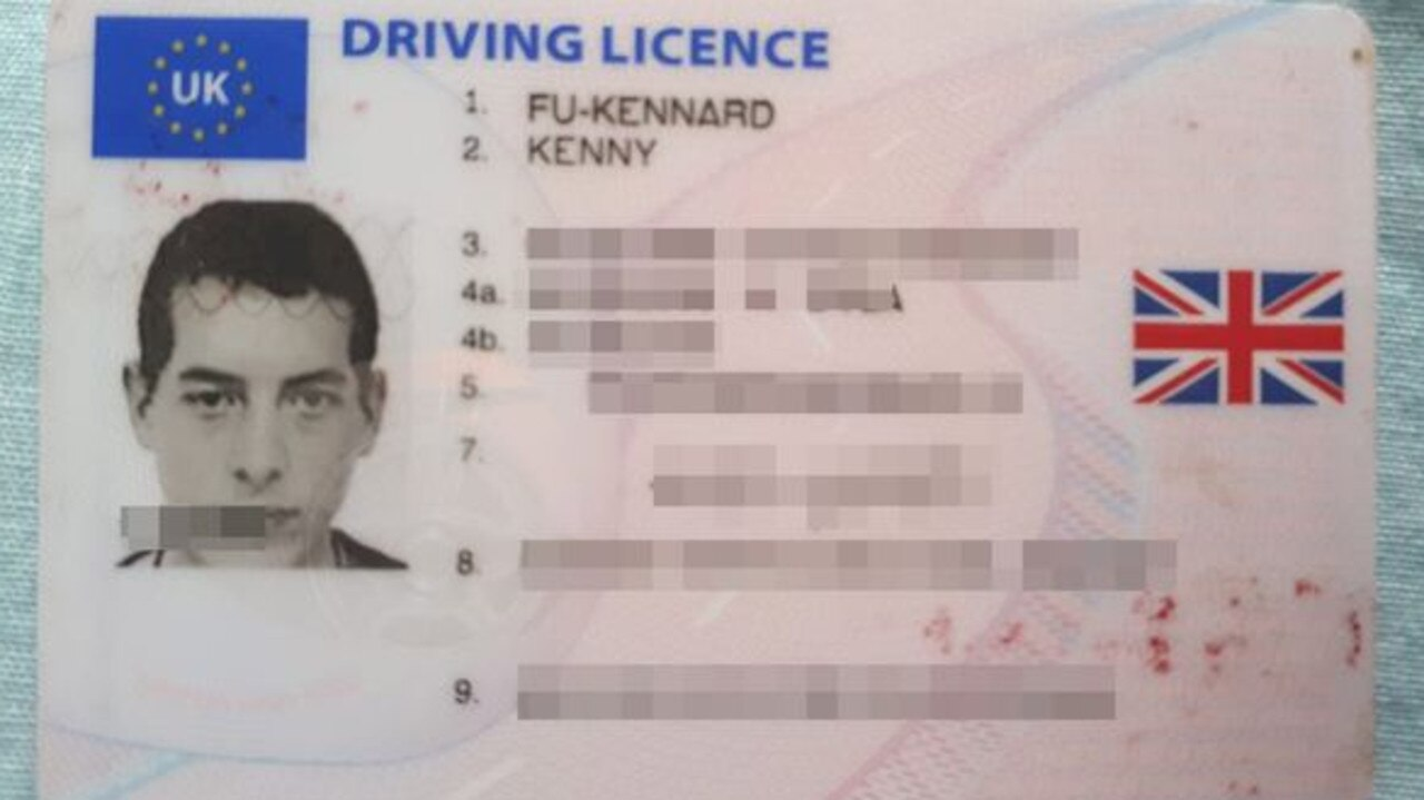 Kenny Kennard can get a driver's licence but not a passport.