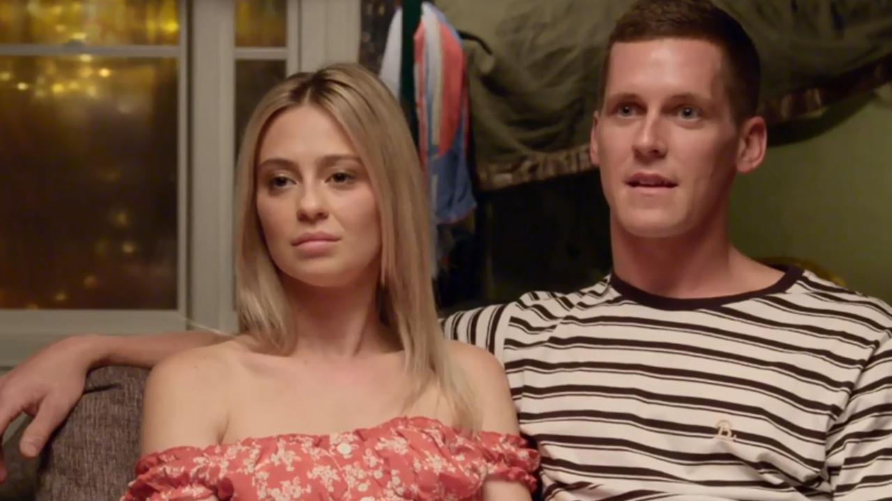 Tess and Luke had a tough time with the first challenge on The Block for 2019, struggling to find anything positive to say about their unfinished guest bedroom.