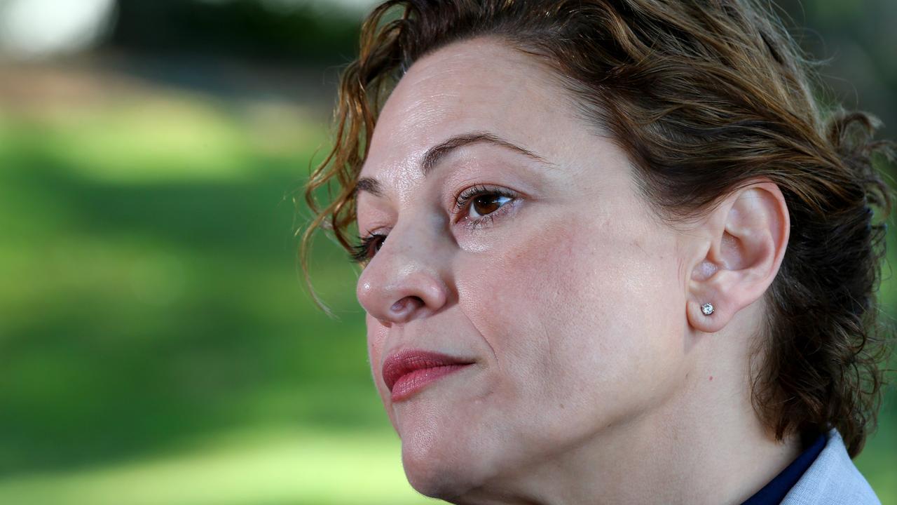 Deputy Premier Jackie Trad. PICTURE: AAP/DAVID CLARK