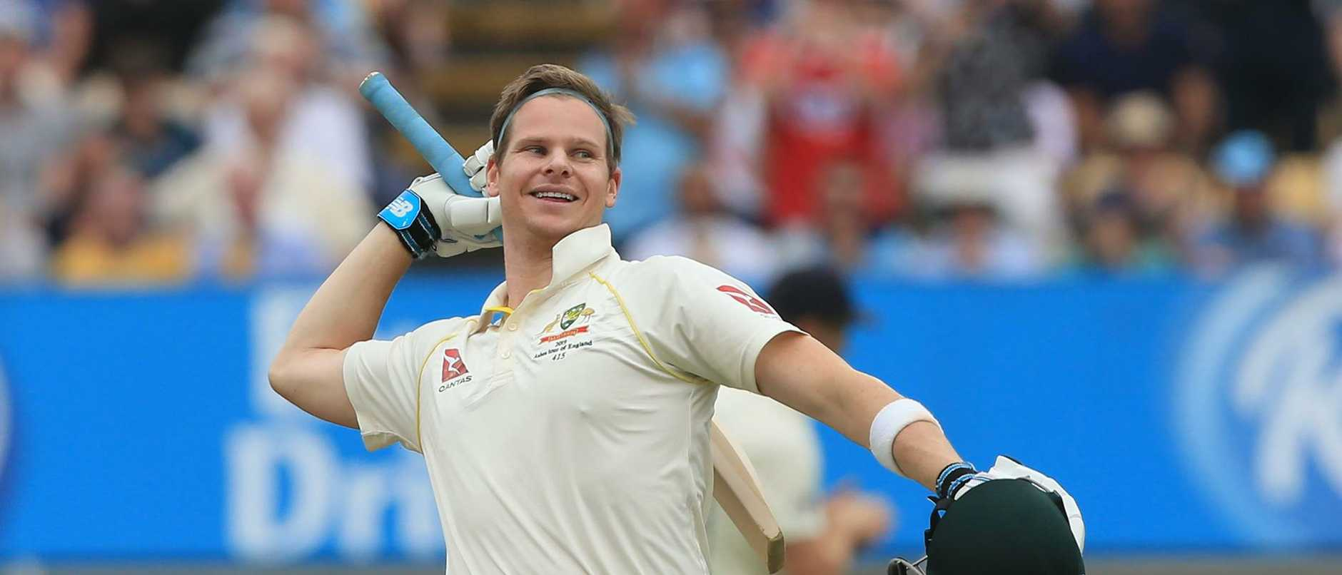 Steve Smith was imperious with the bat on his return to Test cricket. Picture: Lindsey Parnaby/AFP