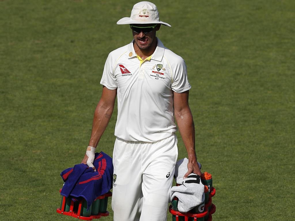 Could Mitchell Starc do more than carry the drinks?