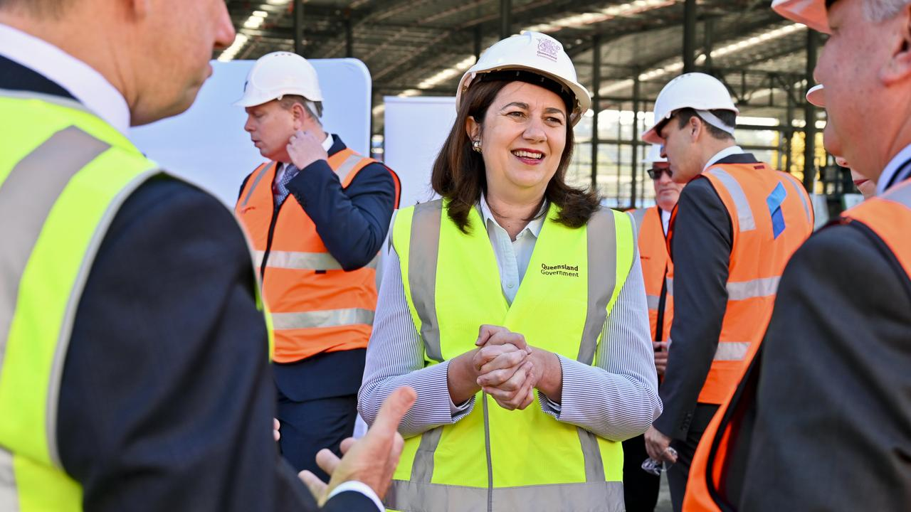 Premier Annastacia Palaszczuk has announced the trams to Burleigh could be running by 2023.