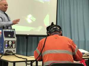 AUGMENTED REALITY: Course in Fusion Welding information session at Tafe South West in Kingaroy.