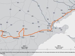 372-tonne, 82-m long superload to drive through Melbourne