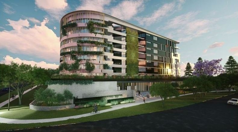 An artist's impression of the proposed Verona Apartments.
