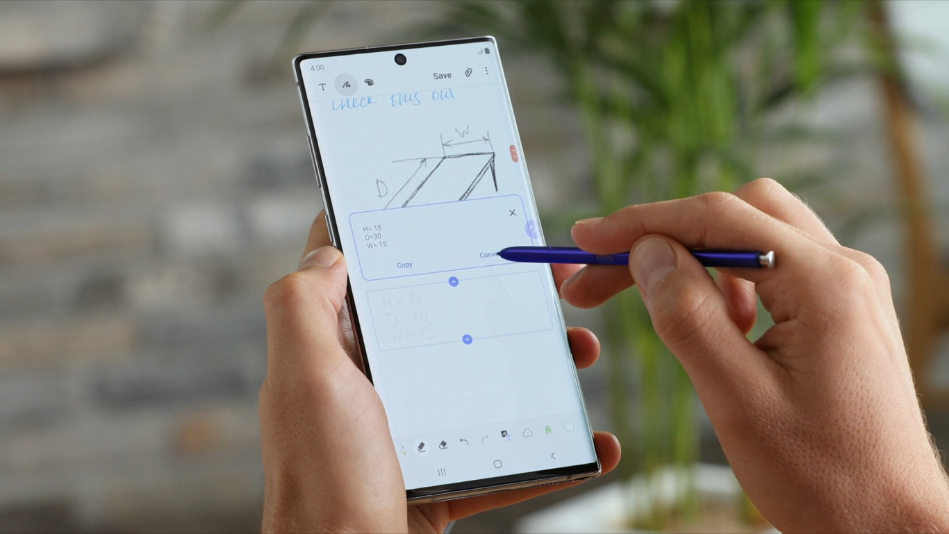 If you're a fan of the pen, this is the Samsung phone for you.