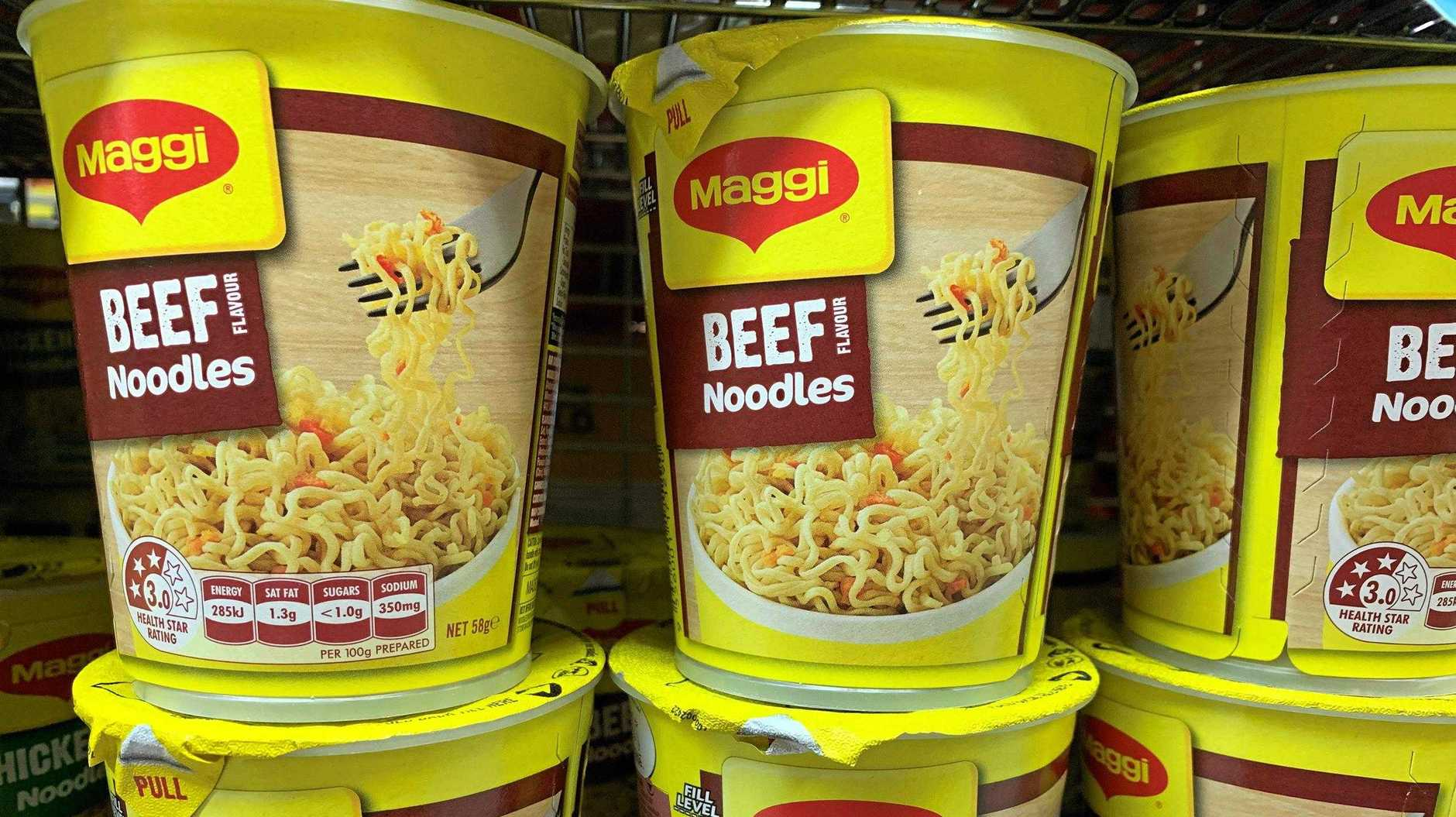 Noodles are a good easy meal for someone who doesn't have access to a kitchen.