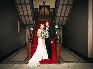 Truckie's wedding