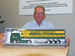 M'boro truckie spends 37 years and millions of miles on road