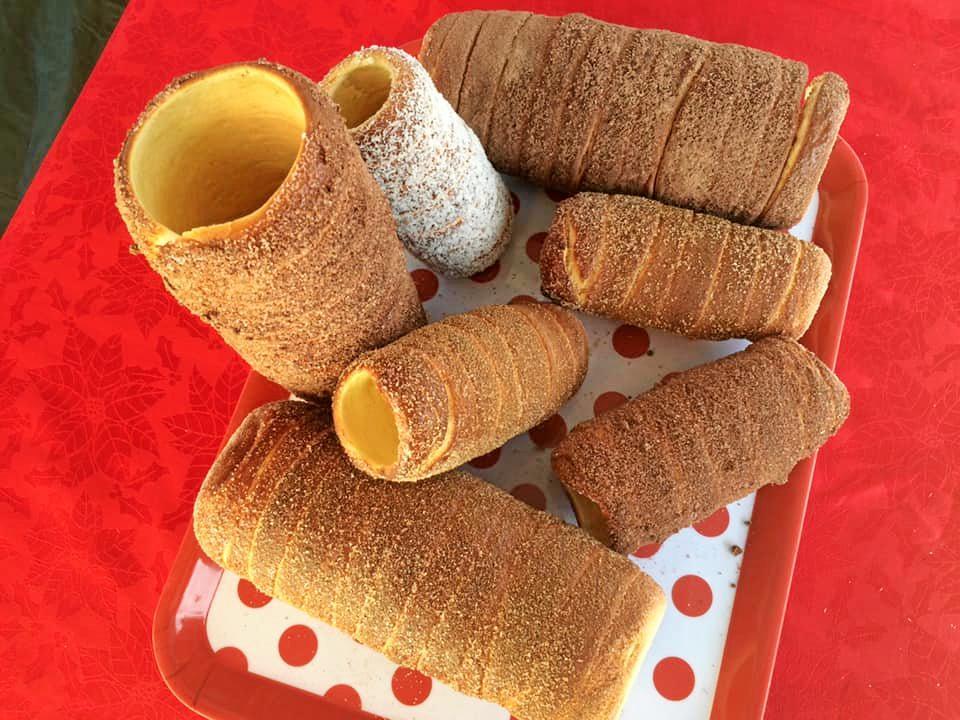 SWEETS: The chimney cake, or 'kürt