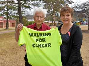 Sam, 89, to walk 60km from Warwick to help beat cancer