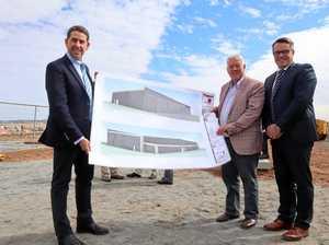 Construction takes off at Qantas Pilot Academy