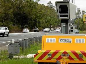 Mobile speed camera locations west of Toowoomba