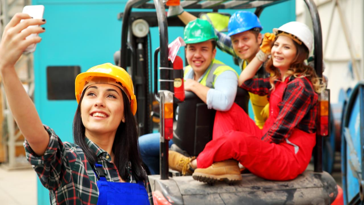One Auckland company has been fined after sacking an employees who took selfies on a forklift during a work trial. Picture: iStock