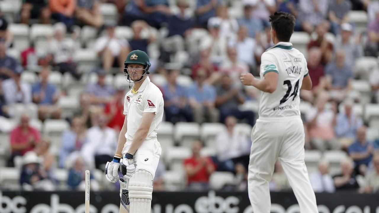 Cameron Bancroft chops on for 33 against Worcestershire. Picture: Getty