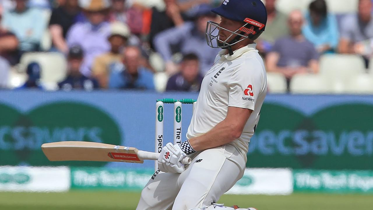 Jonny Bairstow is struggling in the five-day game.