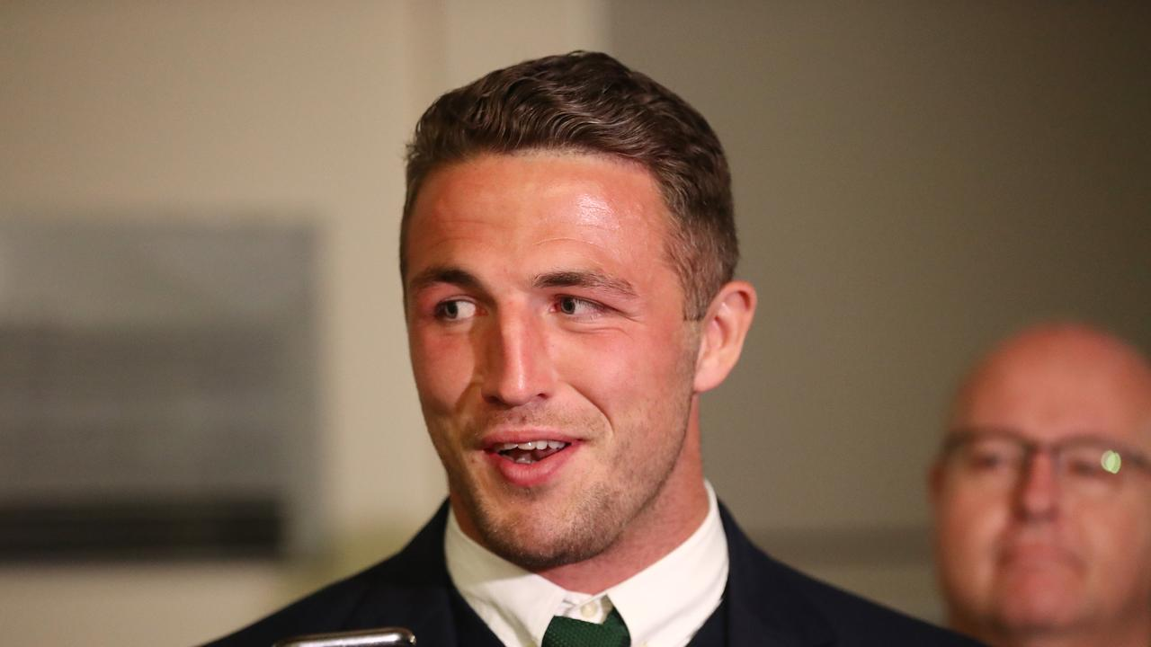 Sam Burgess is free to face the Storm. Picture: Mark Metcalfe