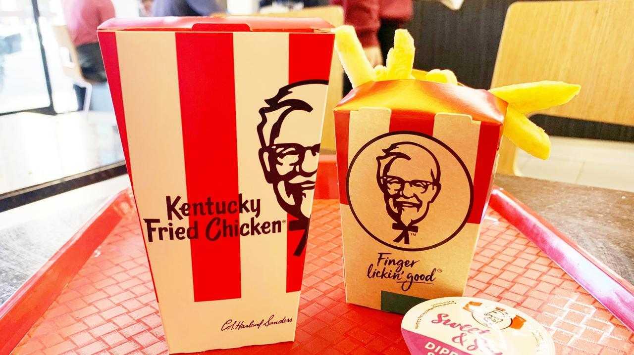 Man's clever hack to get free KFC chicken.