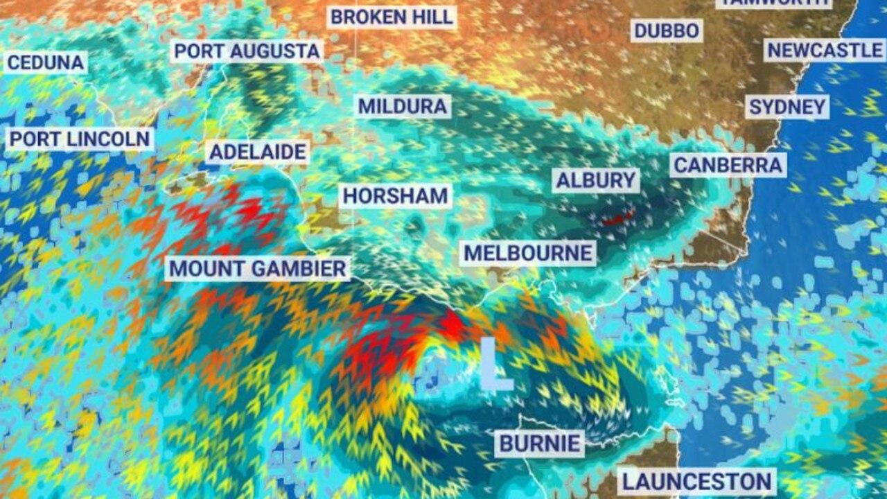 Wild weather is headed for Australia.