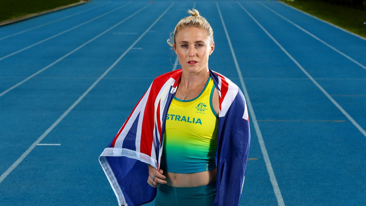 Australian athlete Sally Pearson. Picture: Adam Head