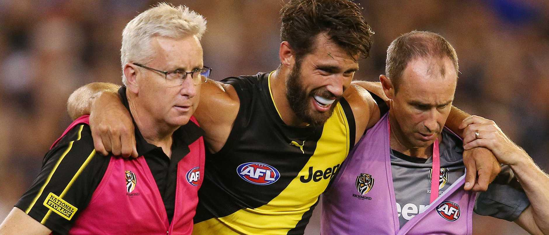 Alex Rance is gone for the season.