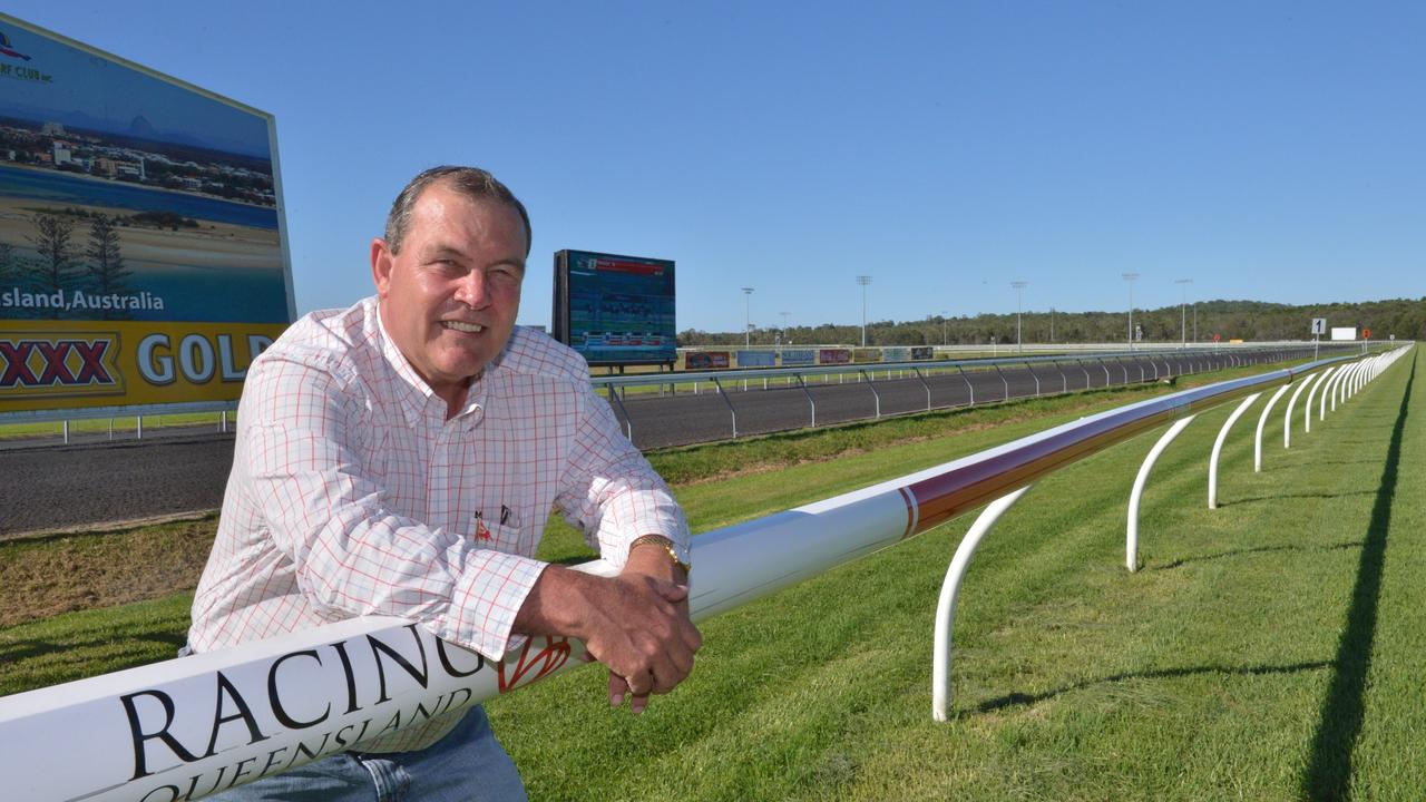 VISION: Sunshine Coast Turf Club chairman Peter Boyce.