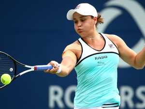 Barty shock as Aussie top seed falls at first hurdle