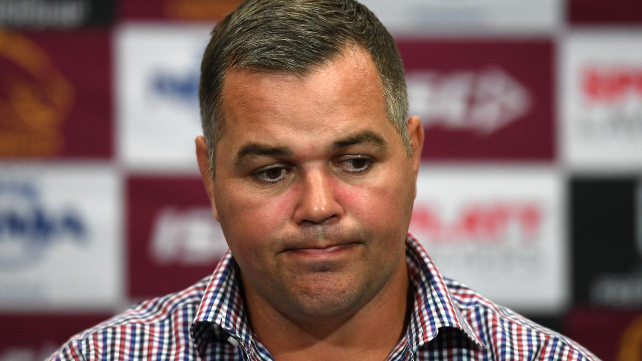 Seibold struggled after the Storm debacle. Photo: AAP Image/Dan Peled