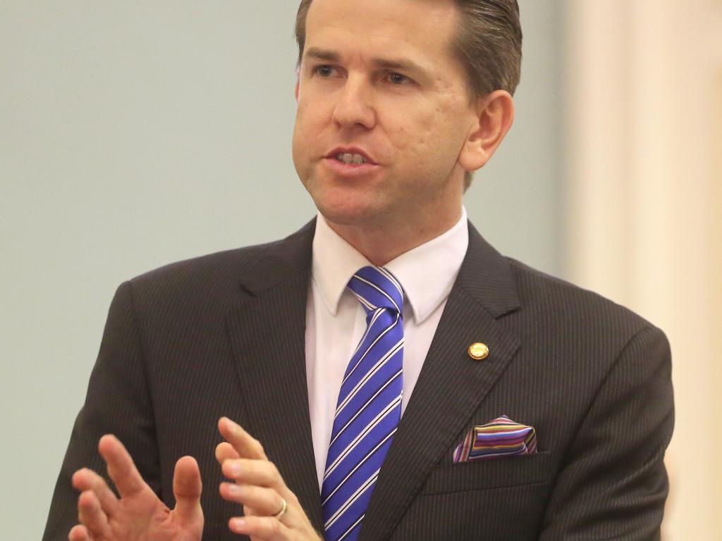 Opposition frontbencher Jarrod Bleijie