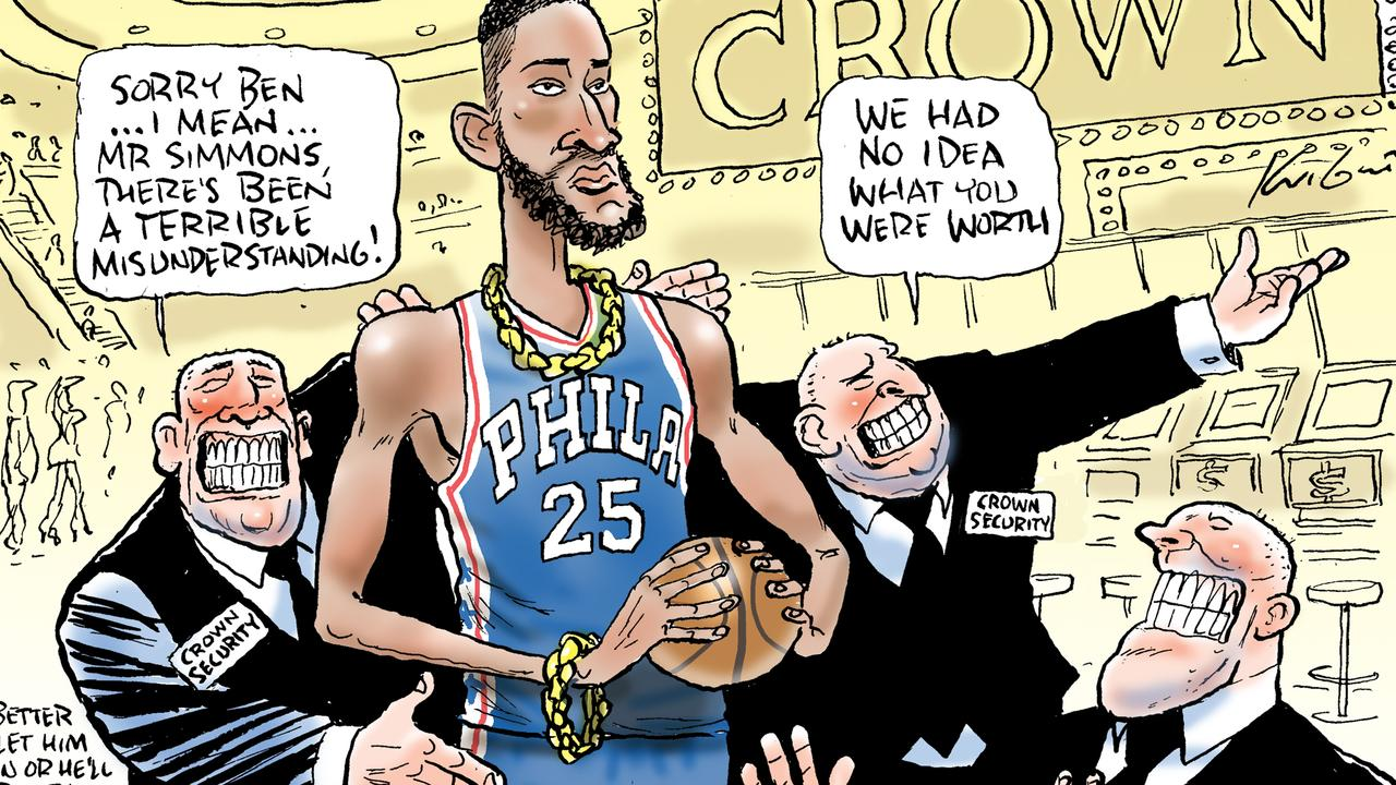 Mark Knight's take on the Simmons v Crown controversy.