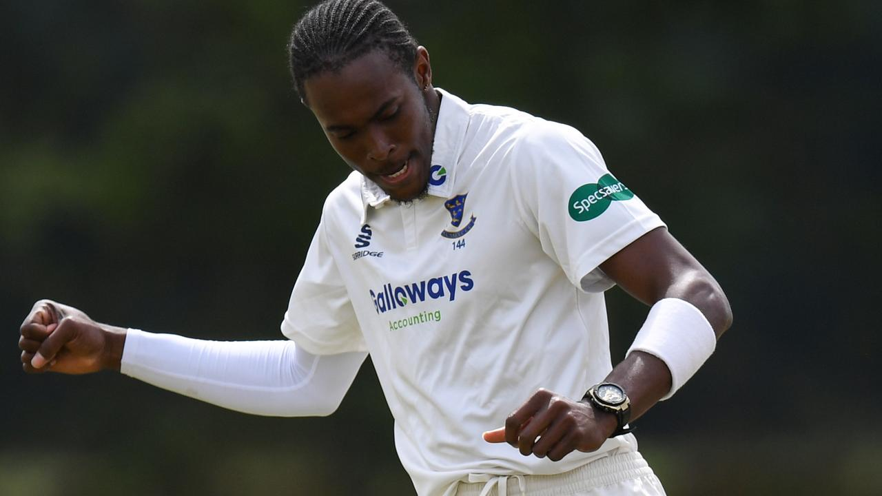 Jofra Archer was in fine form with both bat and ball.