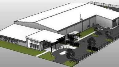 An artist's impression of Mackay Regional Council's Resource Centre of Excellence.