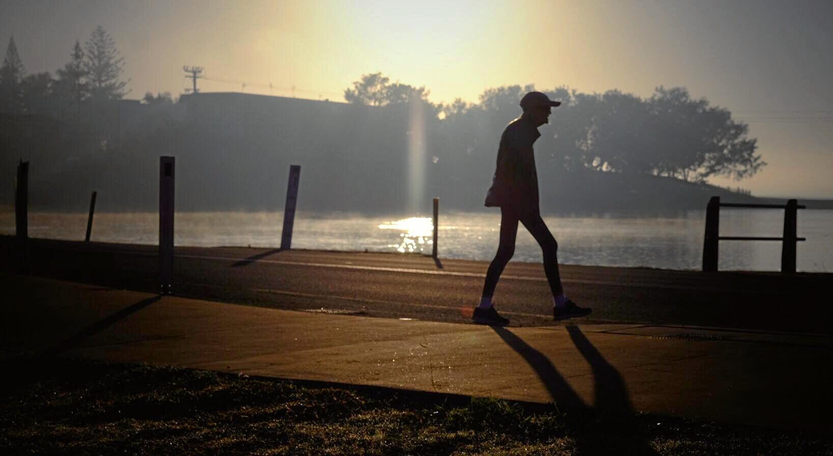 Bundaberg residents woke to a blanket of fog this morning.