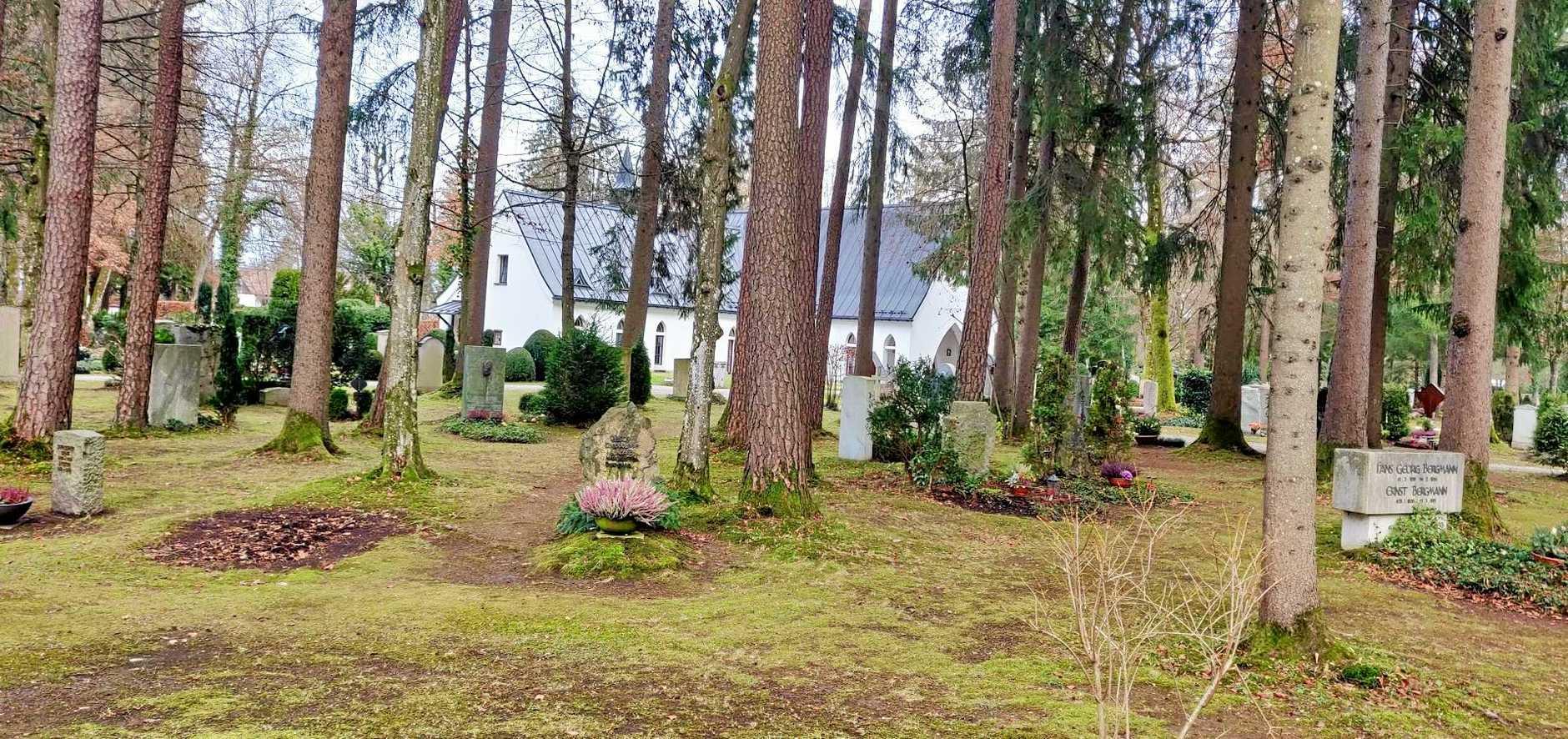 The cemetery in Grunwald.