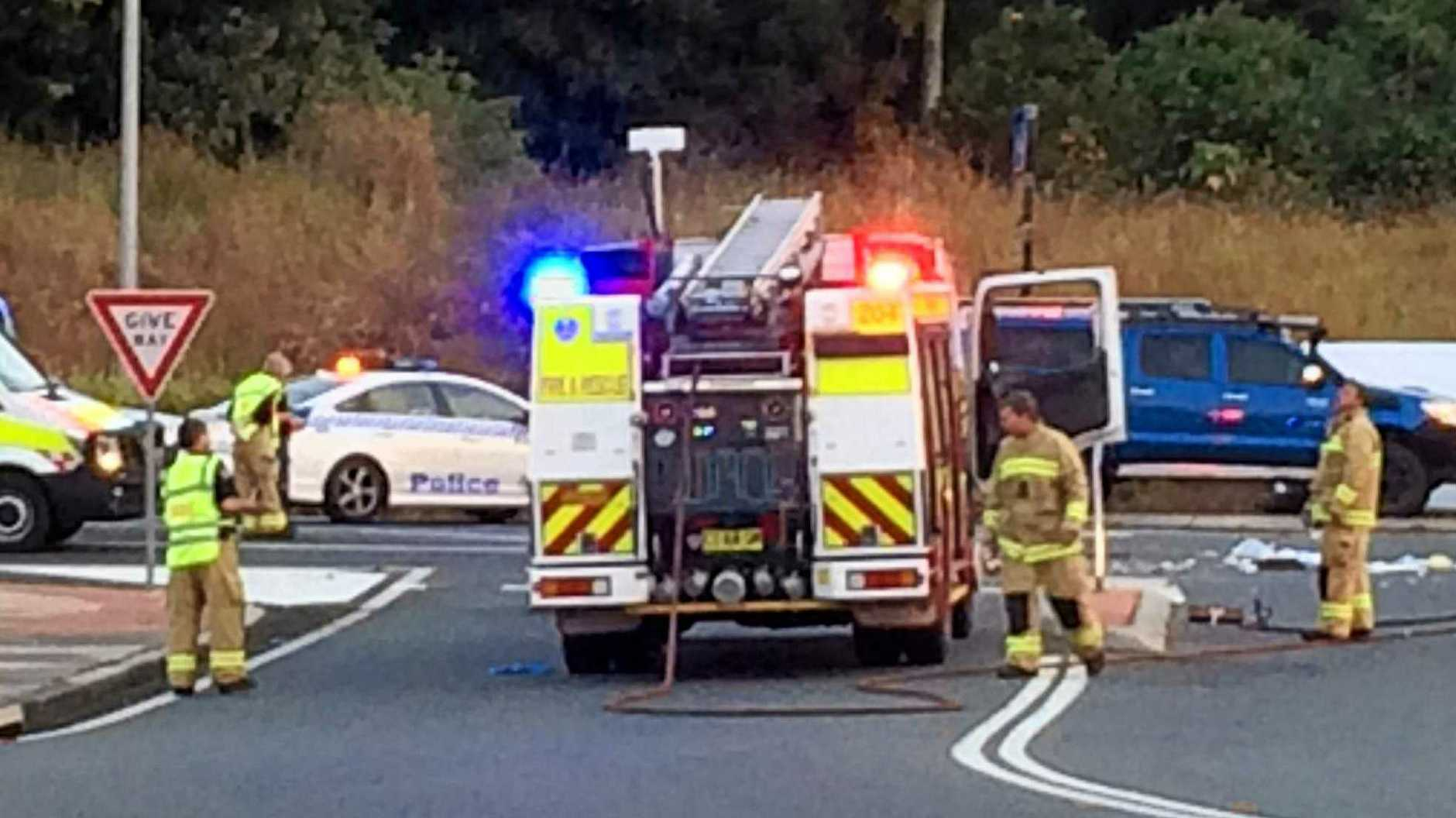 A trial restricting right-hand turns onto the Bruxner Highway at Alstonville has been extended.