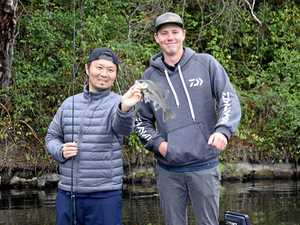 'Gympie, you're the greatest,' says top chef and angler