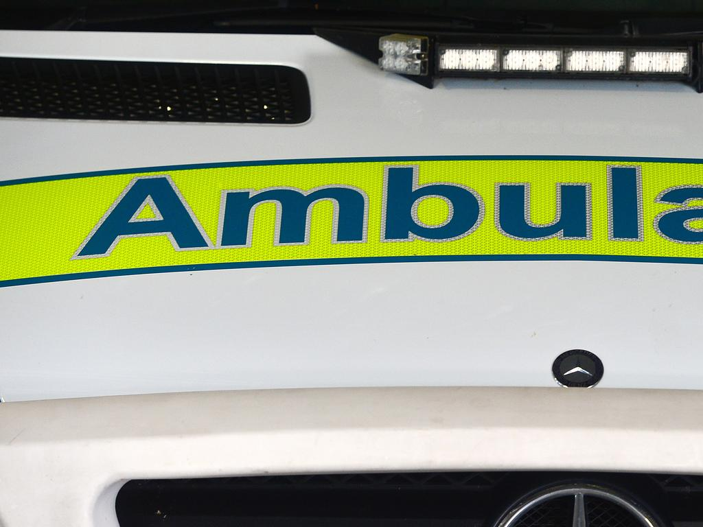 Paramedics rushed to the scene of a crash at Maleny where a car rolled off a cliff this morning.