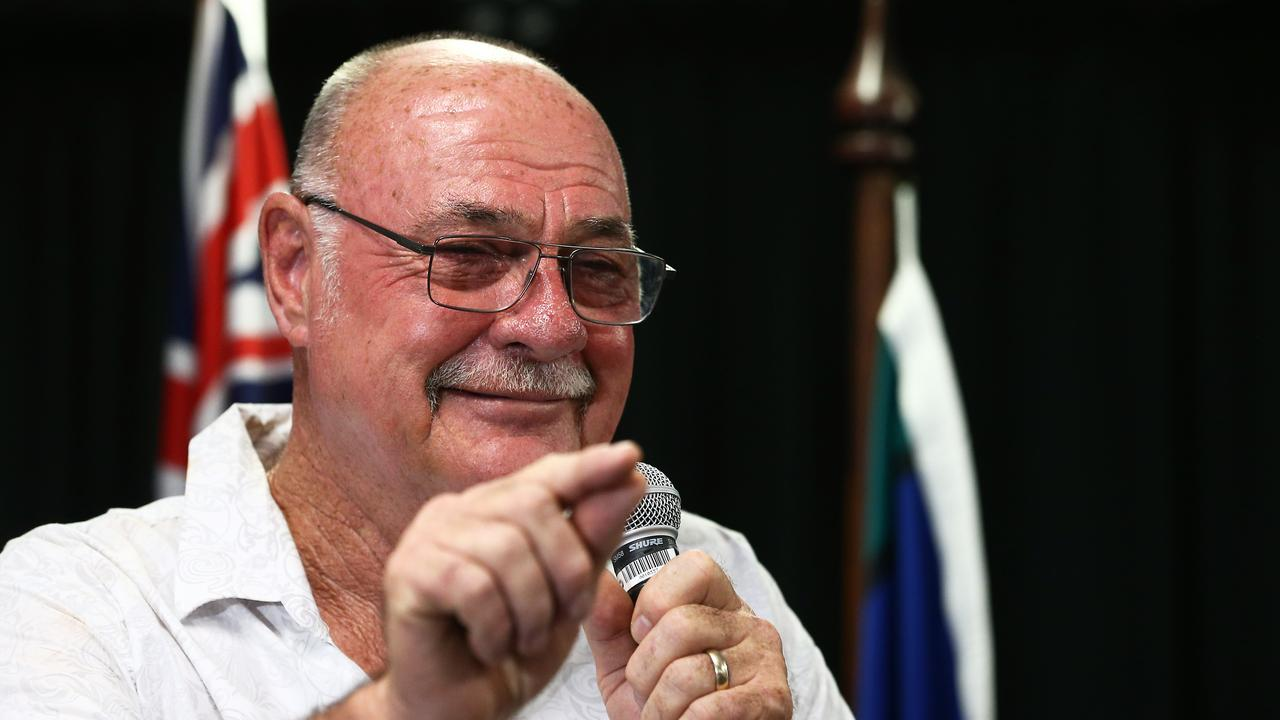 Leichhardt MP Warren Entsch had some tough words for would-be protesters. PICTURE: BRENDAN RADKE