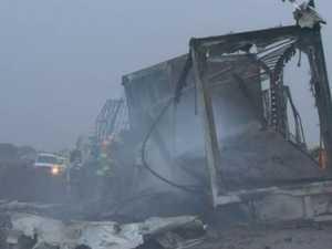 Two truckies killed in 'horrendous' crash