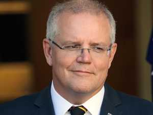 Billboard's angry welcome to Scott Morrison